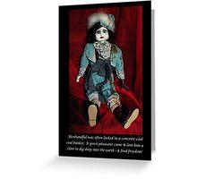 NURSERY CRYMES Alexhandful Greeting Card