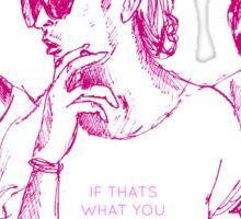 The 1975 - Matt Healy- Love Me Sticker