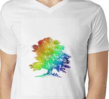 Full Colour Mens V-Neck T-Shirt