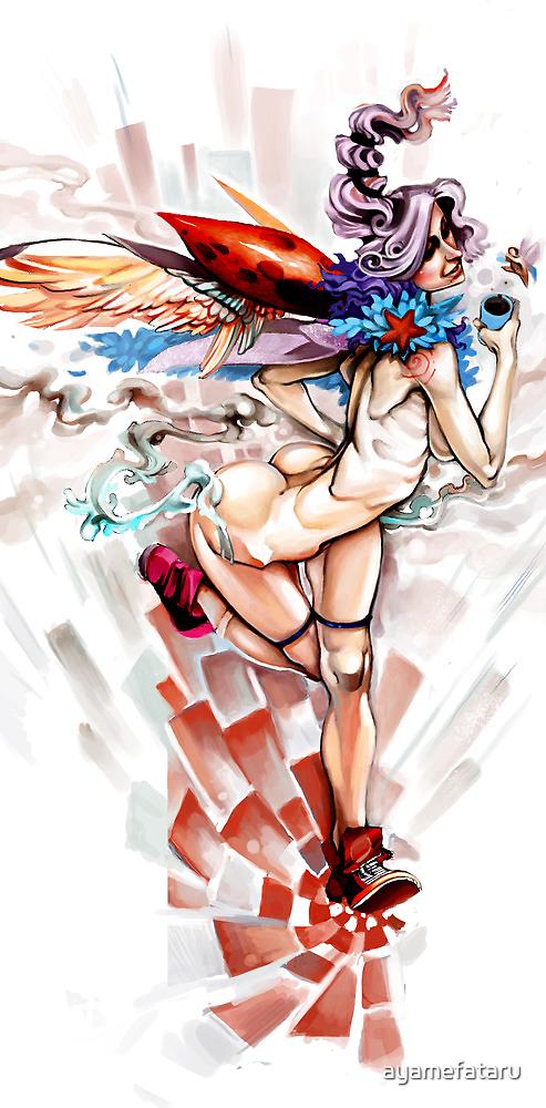 lady bug by ayamefataru