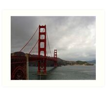 Golden Gate, San Francisco Art Print