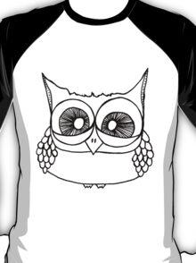 Freak-out Owl T-Shirt