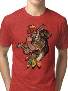 Chicago Blackhawks  Tri-blend T-Shirt