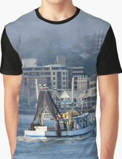 Snow White Returns - Newcastle Harbour NSW Australia Graphic T-Shirt