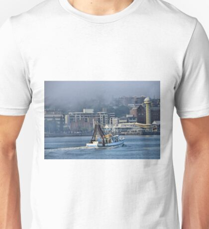 Snow White Returns - Newcastle Harbour NSW Australia Unisex T-Shirt