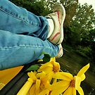 Flowers, Baseball shoes, and a Kayak by Andrea Morris