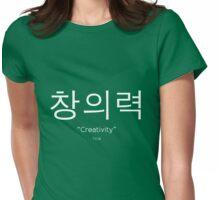 """Creativity"" - Korean Womens Fitted T-Shirt"