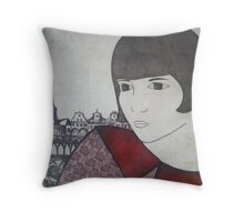 A Yearning for Europe Throw Pillow