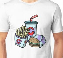 Large Cheeseburger Meal Unisex T-Shirt