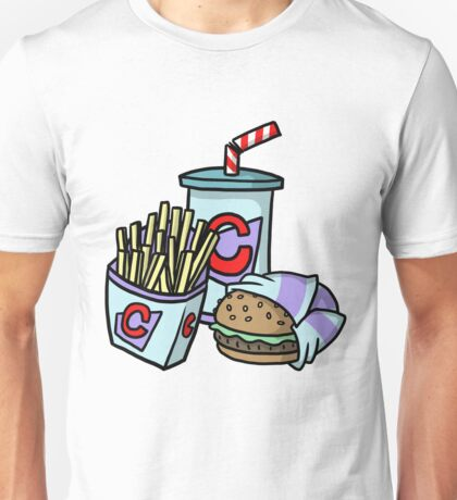 Large Cheeseburger Meal Unisex T-Shirt