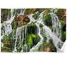 The Seawater Waterfall Poster