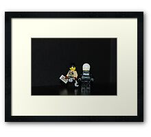 Hard Ass Framed Print