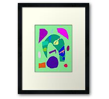 Music Dream Reality Poor Young Old World Framed Print