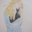 Loving Her Blue Coat by CreativeEm