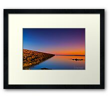 Saturday Sunup Framed Print