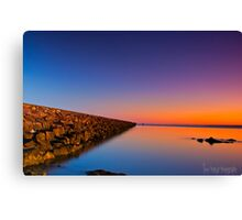 Saturday Sunup Canvas Print