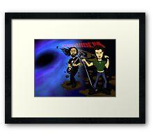 Black Hole Soundgarden Framed Print