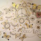 peace and love 2 by Gea Jones