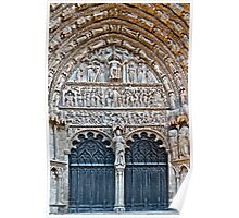 Bourges Cathedral Poster
