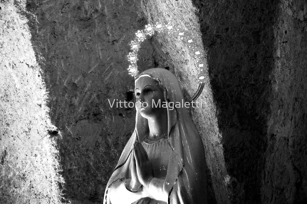 Madonna Statue by Vittorio Magaletti