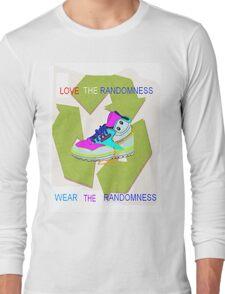 random shoe Long Sleeve T-Shirt