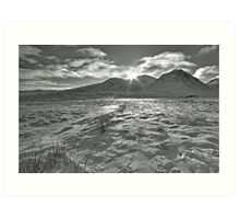 Glencoe Sunrise Art Print