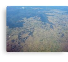 Earth from Sky Canvas Print