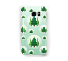 Abstract Geometric Christmas Trees Samsung Galaxy Case/Skin