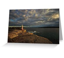 Hornby Lighthouse, South Head Greeting Card