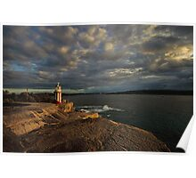 Hornby Lighthouse, South Head Poster