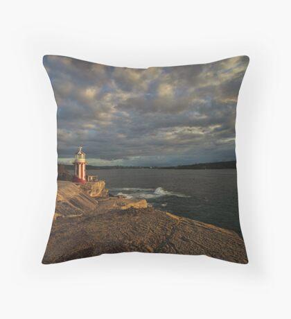 Hornby Lighthouse, South Head Throw Pillow