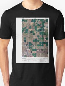 USGS Topo Map Washington State WA Glade 20110429 TM Unisex T-Shirt