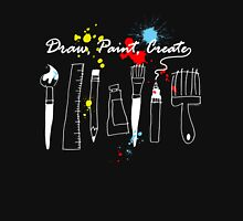 Draw Paint Create  Unisex T-Shirt