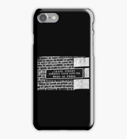 Dublin in Mono: Sráid An Crána iPhone Case/Skin