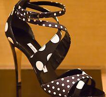 Polka Dot Heels by diggle