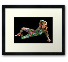 Painted Lady 4 Framed Print