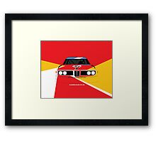 Alexander Calder's 1975 Art Car Framed Print