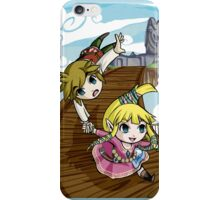 Skyward Sword in the style of The Wind Waker iPhone Case/Skin