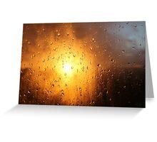 rain and sun 1 Greeting Card