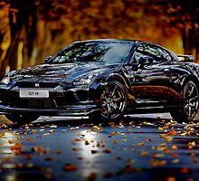 Nissan Gtr.The Super-car by fine-art-prints
