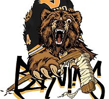 Boston Bruins  by ScribblePuff