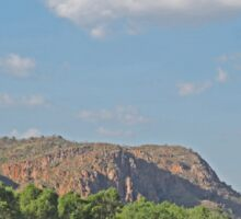 View along the Ord River, Kimberley, Western Australia Sticker