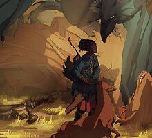 Dragon Keeper by Marta Milczarek