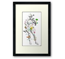 Angelo Skeleton Framed Print