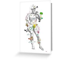 Angelo Skeleton Greeting Card