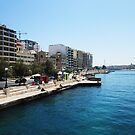 Sliema seafront by Suzanne German