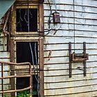 silo door by g richard anderson