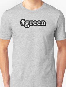Green - Hashtag - Black & White T-Shirt
