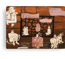 slave trade Canvas Print