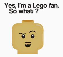 Lego fan by designholic